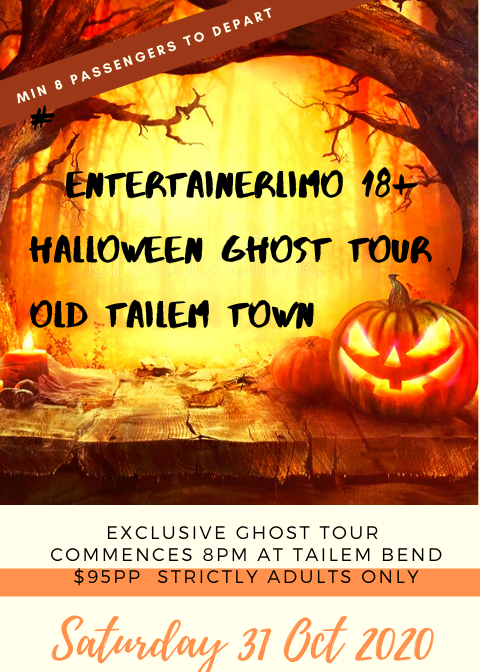 Old Tailem Town Ghost Tour 2020 Juggle House Experiences