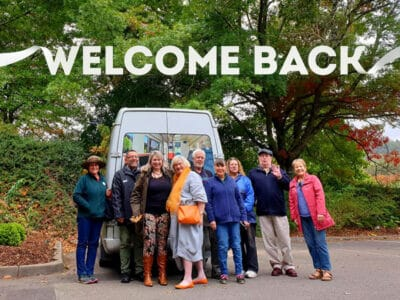 Welcome Back - Mt Lofty Gardens